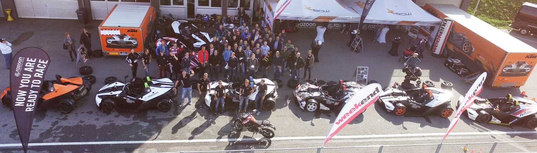 KTM X-BOW razoon Drift Race Rennstrecke. Rennstreckentraining Red Bull Ring buchen