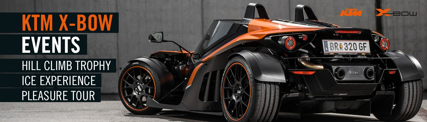 KTM X-BOW EVENTS 2015