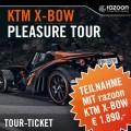 KTM X-BOW Pleasure Tour razoon-Ticket
