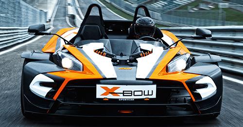 KTM X-BOW Rennstreckentraining