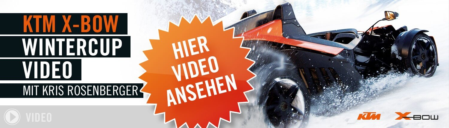 KTM X-BOW Wintercup Video