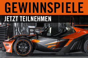 KTM X-BOW mieten Graz Gewinnspiele