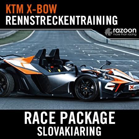 Race Package Rennstreckentraining Slovakiaring