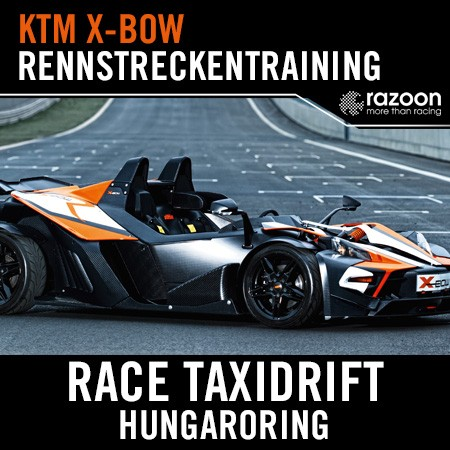 Race Taxidrift Rennstreckentraining Hungaroring