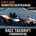 Race Taxidrift Rennstreckentraining Pannoniaring