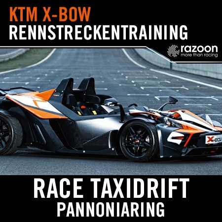 Race Taxidrift Rennstreckentraining Pannoniaring