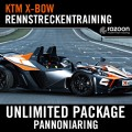 Unlimited Package Rennstreckentraining Pannoniaring