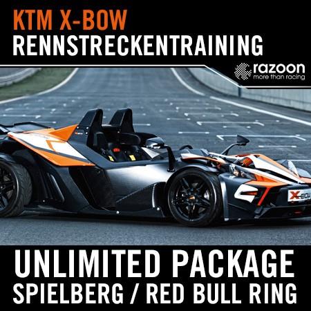 Unlimited Package Rennstreckentraining Spielberg