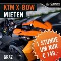 KTM X-BOW Graz mieten 1 Stunde