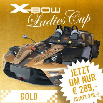 KTM X-BOW Ladies Cup Gold