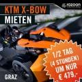 KTM X-BOW mieten Graz 1/2 Tag