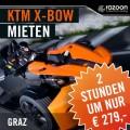 KTM X-BOW mieten Graz 2 Stunden