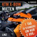 KTM X-BOW mieten Linz 1 Tag