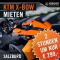 KTM X-BOW mieten Salzburg 2 Stunden