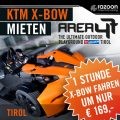 KTM X-BOW mieten Area47 1 Stunde