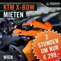 KTM X-BOW mieten Wien 2 Stunden