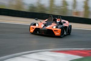 Rennstreckentraining KTM X-BOW