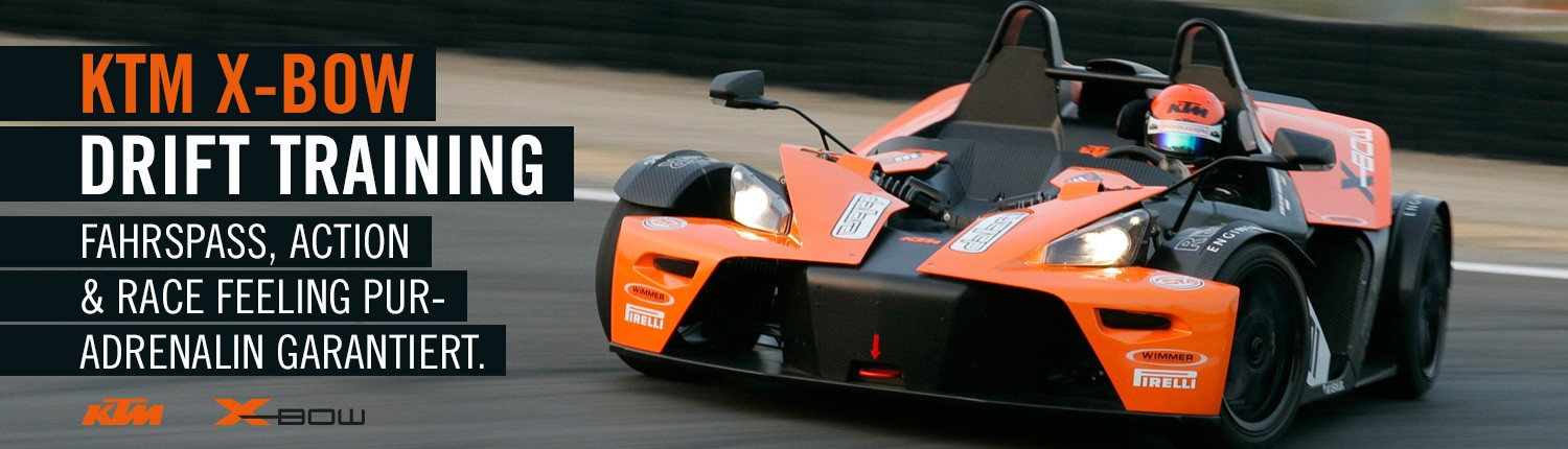 Drift Training KTM X-Bow