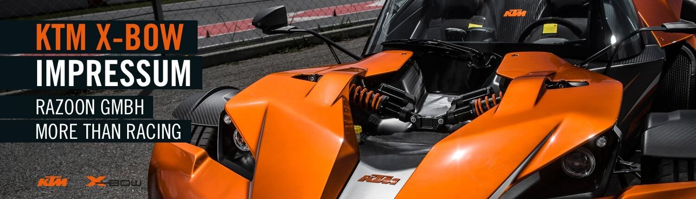 KTM X-BOW Impressum