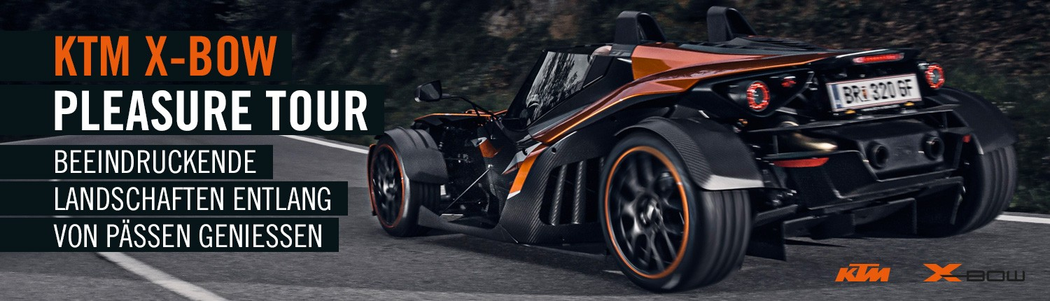 KTM X-BOW Pleasure Tour