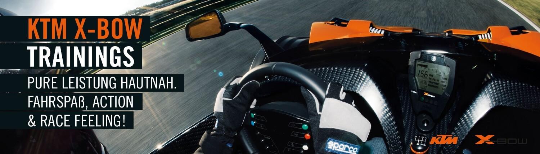 KTM X-BOW Trainings
