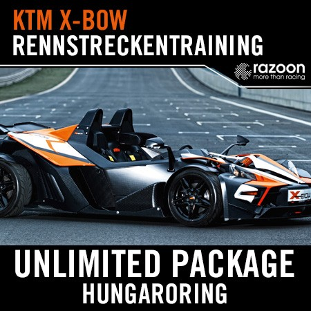 Unlimited Package Rennstreckentraining Hungaroring