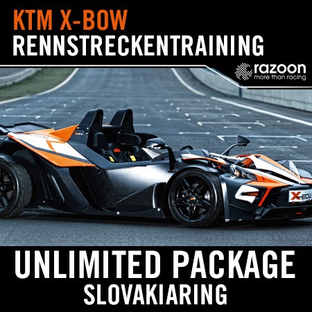 Unlimited Package Rennstreckentraining Slovakiaring