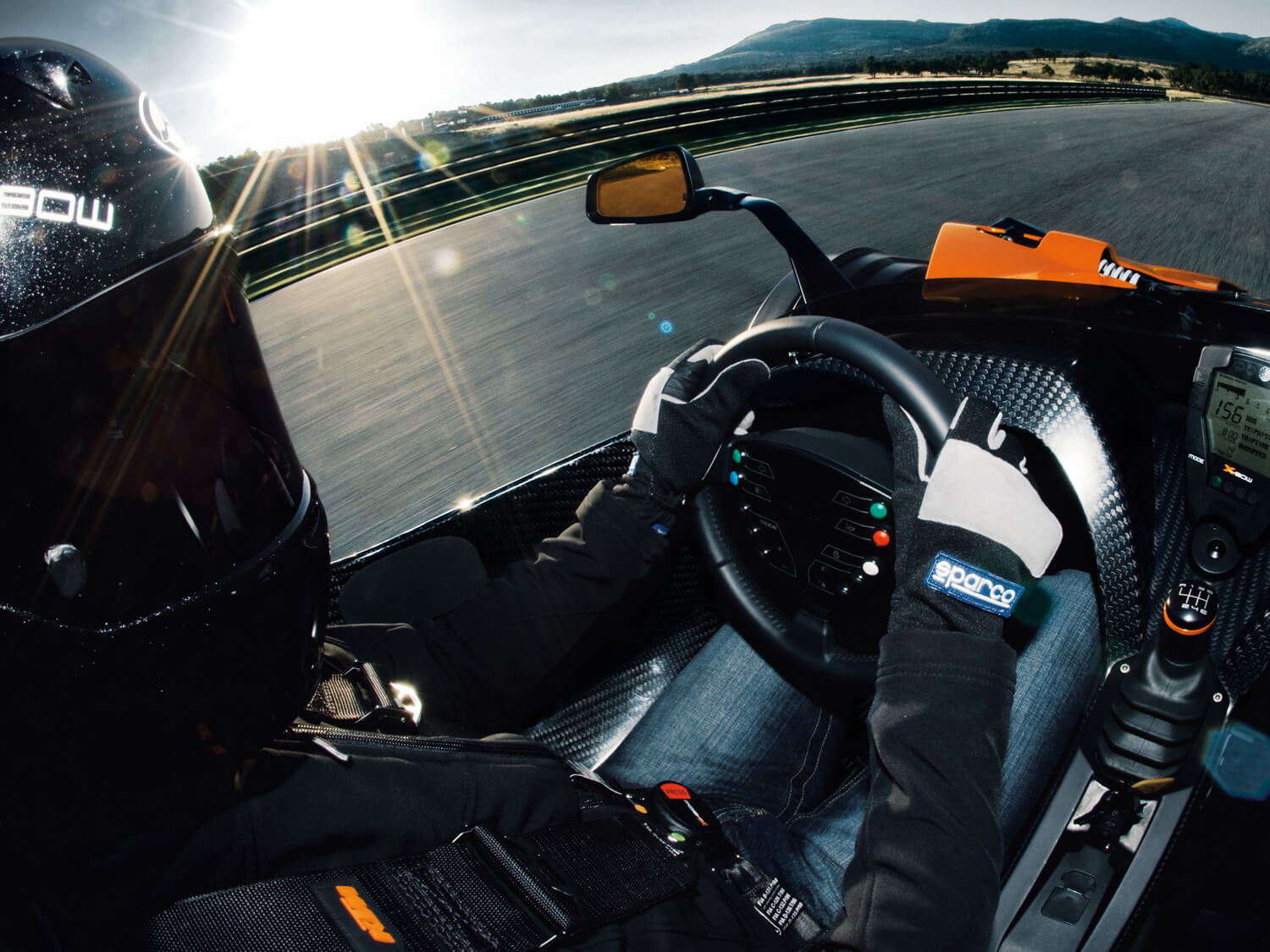 Private coaching KTM X-Bow