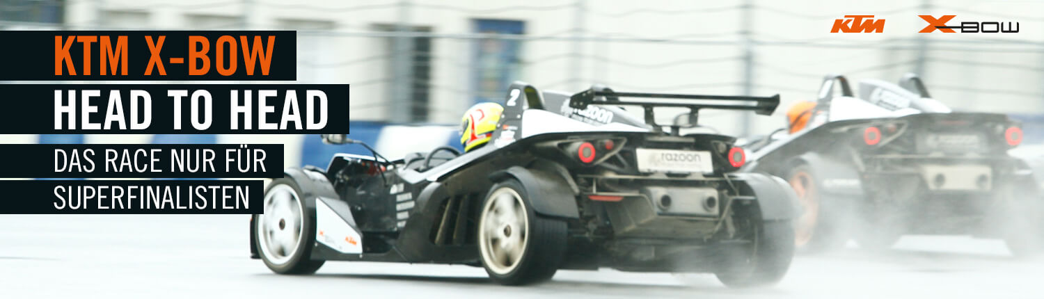 KTM X-BOW Head To Head Race header 1500x430