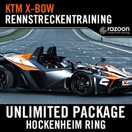 Unlimited Package Rennstreckentraining Hockenheim Ring