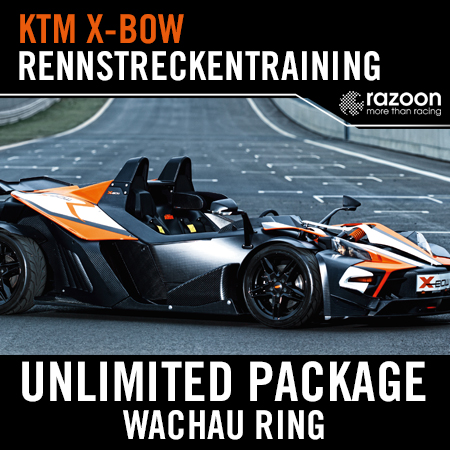 Unlimited Package Rennstreckentraining Wachau Ring KTM X-BOW