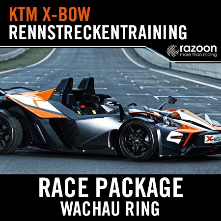 Race Package Rennstreckentraining Wachau Ring KTM X-BOW