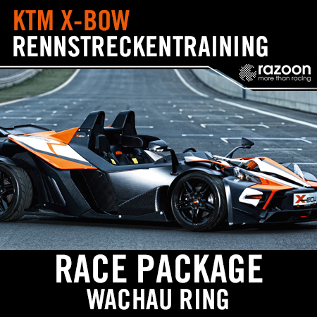 Race Package Rennstreckentraining Wachau Ring KTM X-BOW