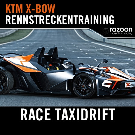 Race-Taxidrift-Rennstreckentraining
