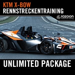 Unlimited Package Rennstreckentraining KTM X-Bow