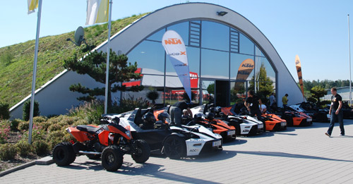 KTM X-Bow Firmen Events