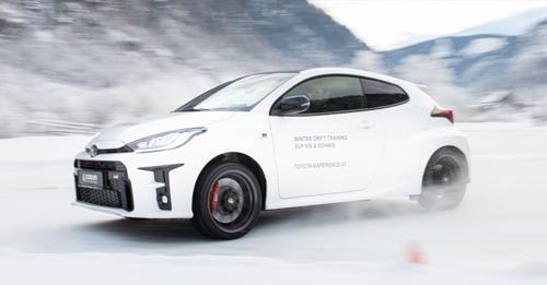 TOYOTA GR YARIS Das Winter Drift Training auf Eis und Schnee mit dem neuen TOYOTA GR YARIS - Gleich buchen!